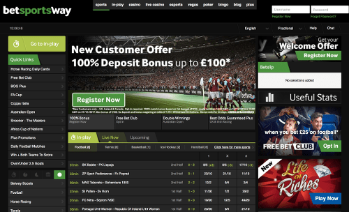 BETWAY - cricket betting sites