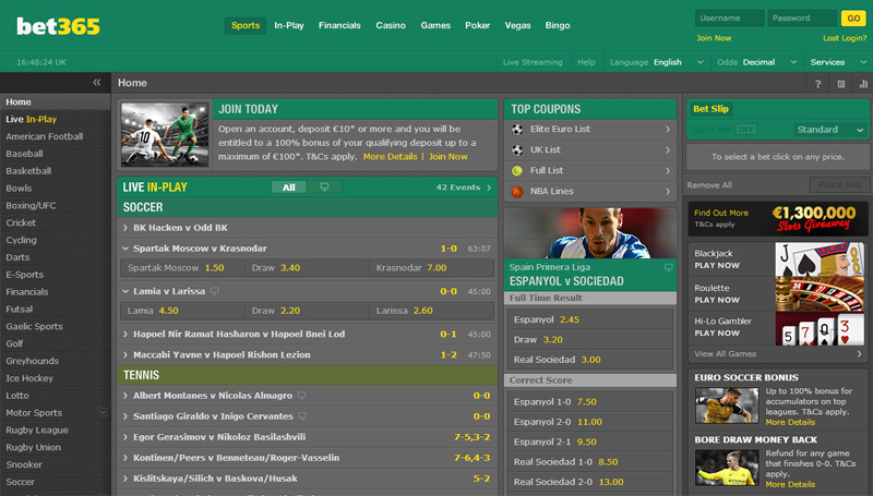 Bet365 - cricket betting platforms